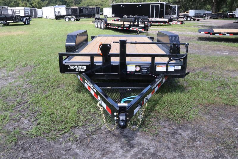 7x16 PJ Trailers | Equipment Trailer