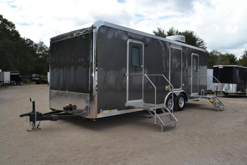 10 Station Restroom Trailer (Rental)