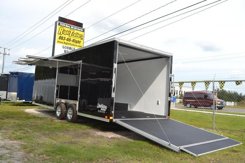 8.5x24 ATC Trailers   Car Hauler