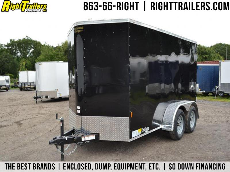 6x12 Continental Cargo | Enclosed Trailer [Black] in Ashburn, VA