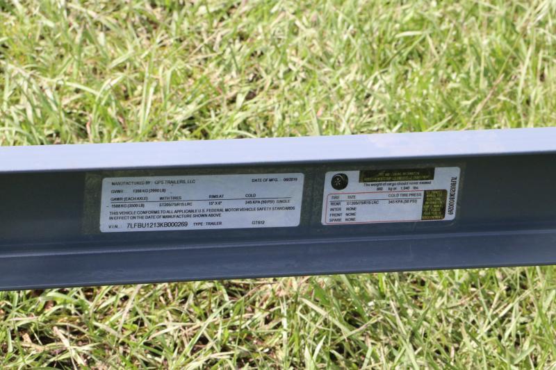 6x12 GPS | Utility Trailer