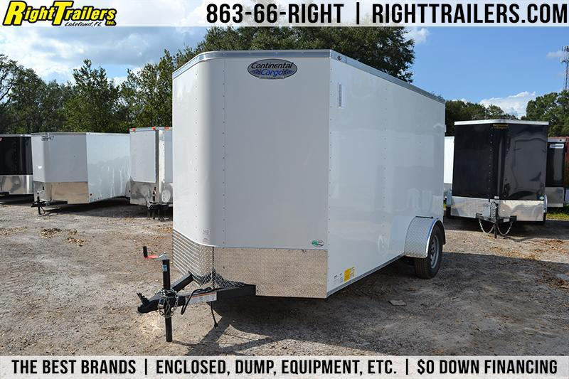 6x12 Continental Cargo | Enclosed Trailer [Barn Doors] in Ashburn, VA