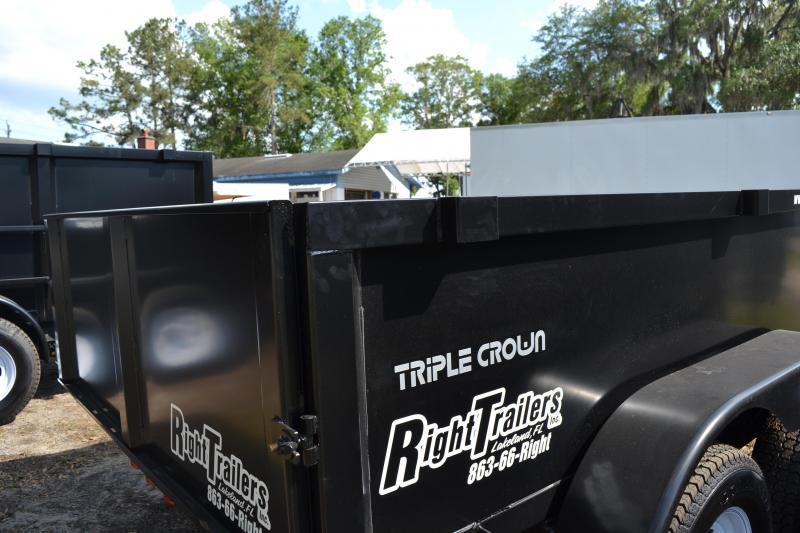 6x10 Triple Crown | Dump Trailer