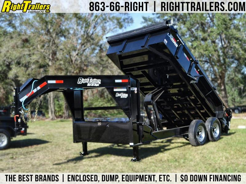 7x14 Lamar Trailers | Dump Trailer [Low-Profile] in Ashburn, VA