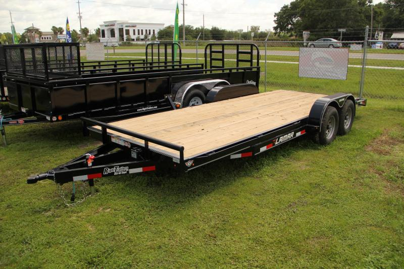 7x20 Lamar Trailers | Open Car Hauler