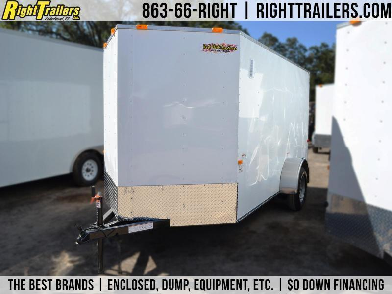 6x12 Red Hot Trailers | Enclosed Trailer in Ashburn, VA