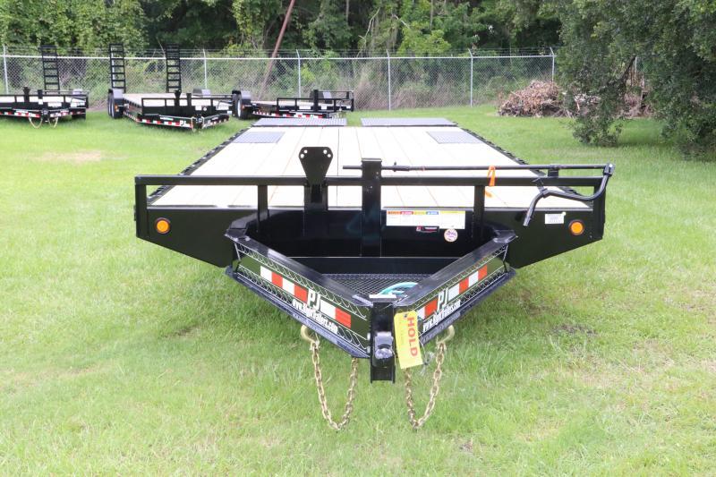 8x26 PJ Trailers | F8 8 X 26 Deckover Equipment Trailer