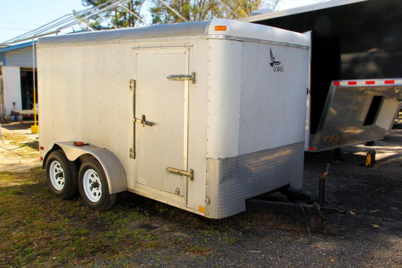 6x12 Lark Enclosed Trailer