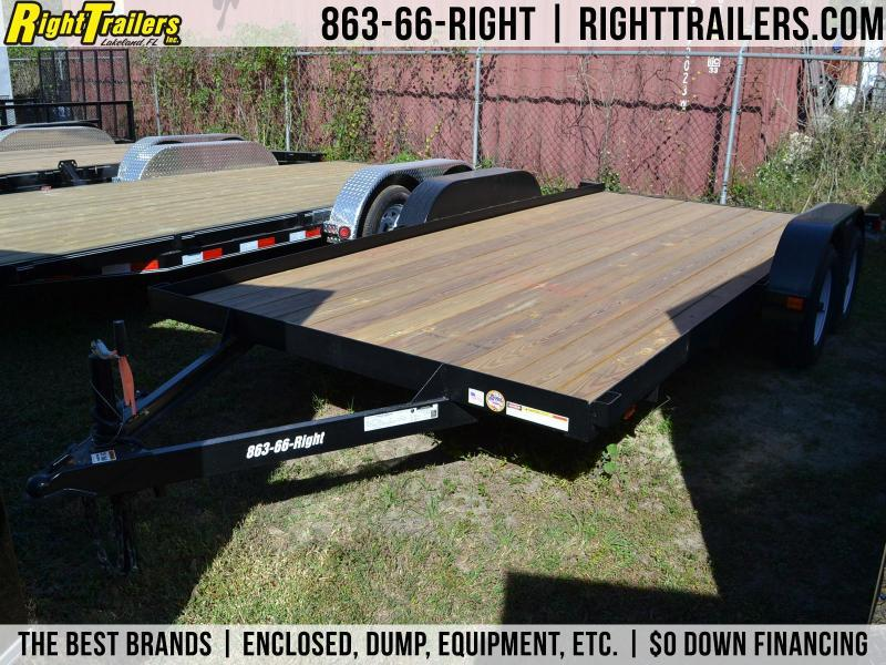 7x16 Red Hot Trailers | Equipment Trailer in Ashburn, VA