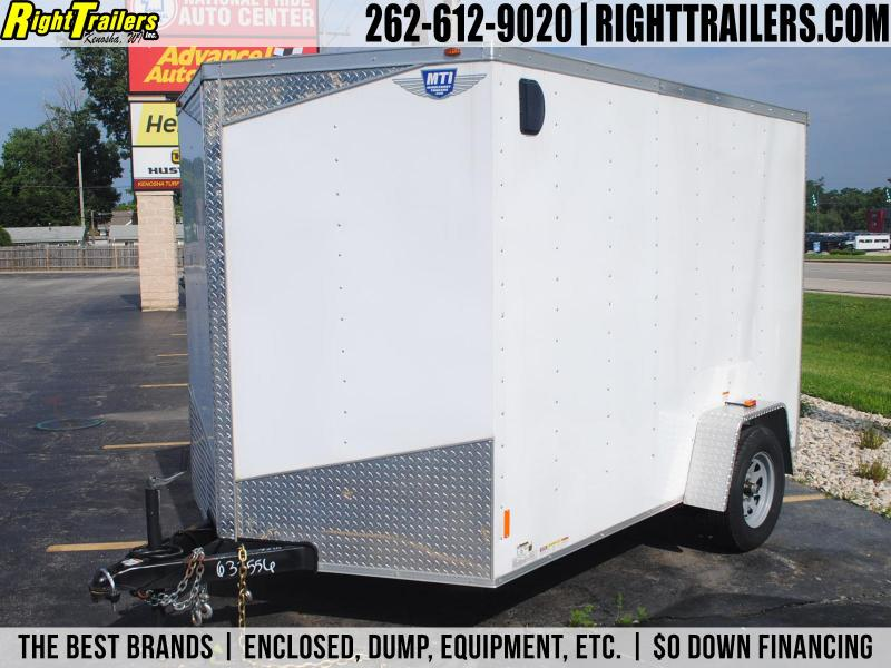FLOOR MODEL: 7x10 MTI Trailers | Enclosed Trailer