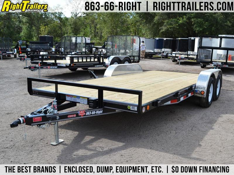 7x20 PJ Trailers | Car Hauler