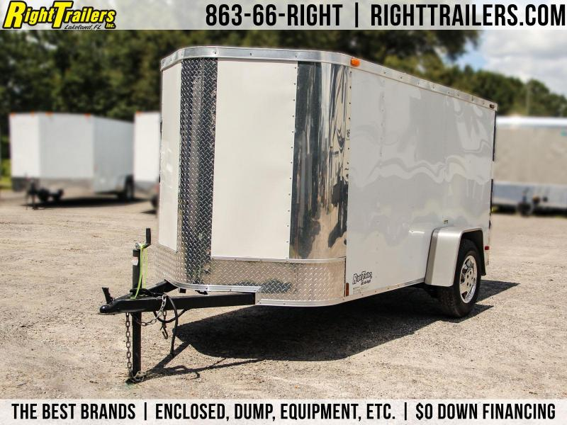 USED: 5x10 Arising Trailer | Enclosed Trailer