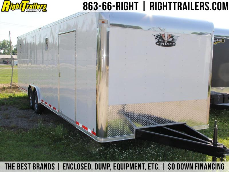 8.5x30 Vintage Trailers | Race Car Trailer