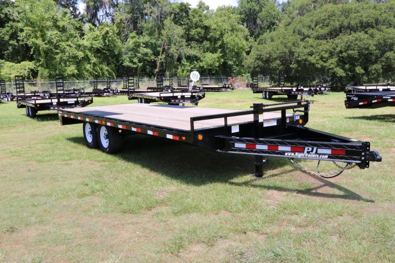8.5x20 PJ Trailers   Deck Over   Equipment Trailer