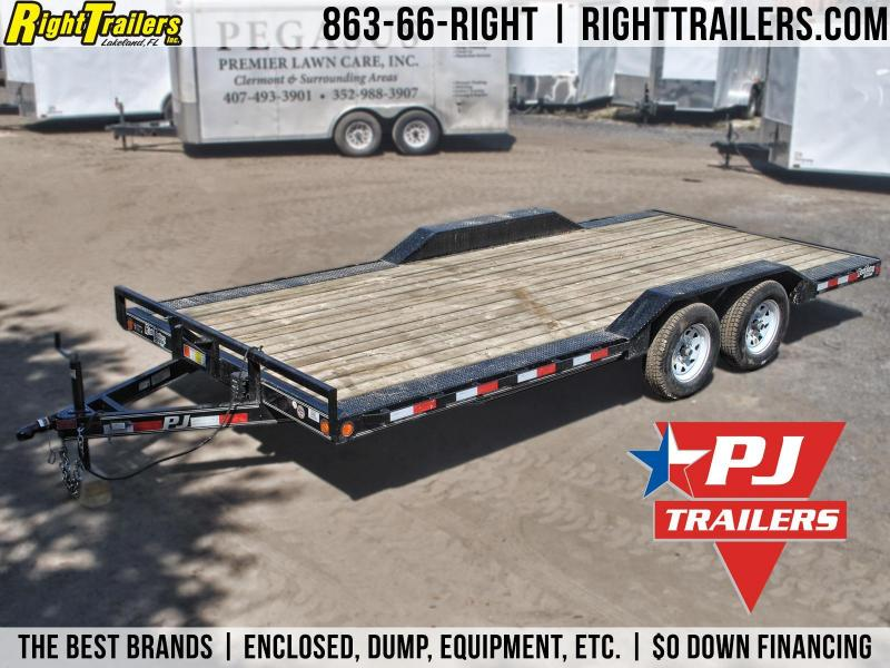 8.5x20 PJ Trailers | Equipment Trailer [Drive Over Fenders]