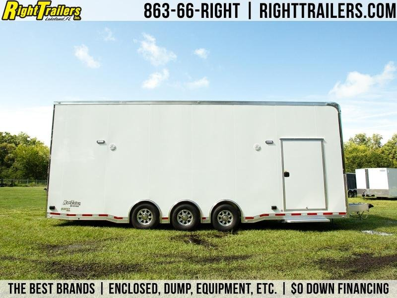 8.5x28 ATC | Car Hauler | Racing Trailer