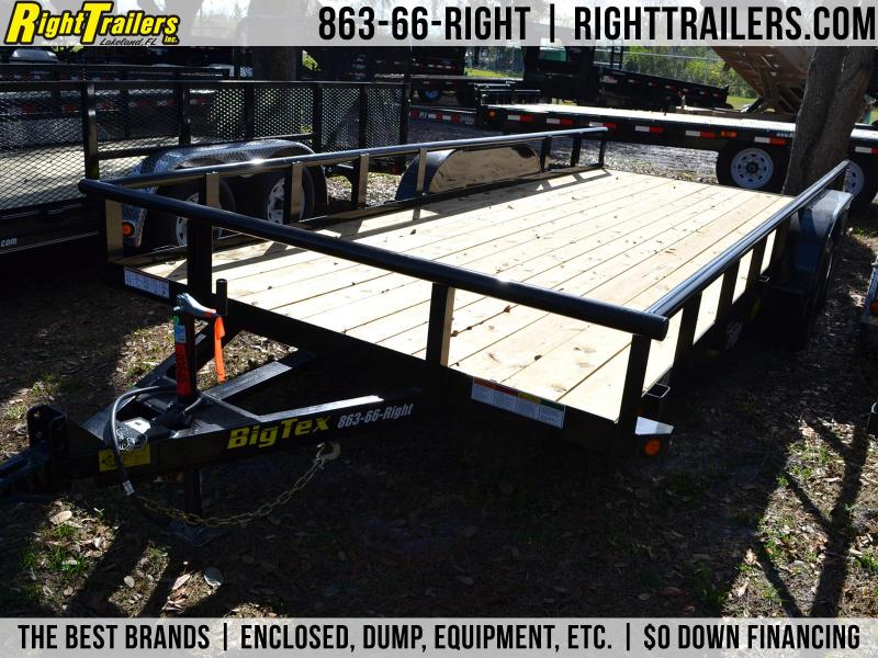 7x18 Big Tex Trailers | Utility Trailer