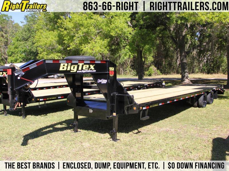 8.5x33 Big Tex Trailers   Equipment Trailer [22GN-28+5]
