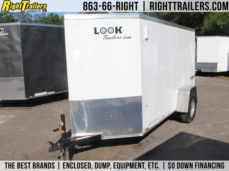 5x10 Look Trailers | Enclosed Trailer in FL