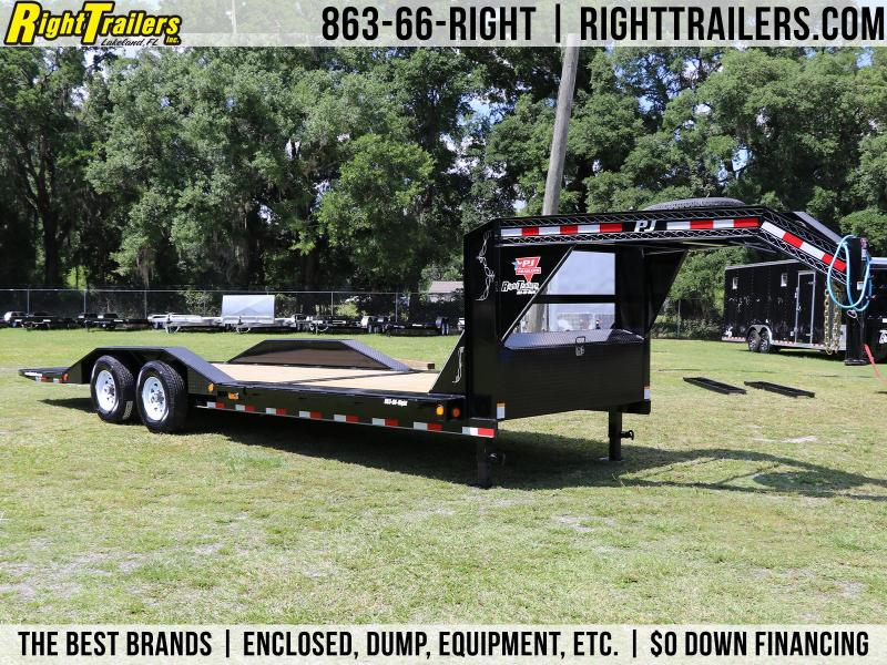 7x24 PJ Trailers | Equipment Tilt Trailer