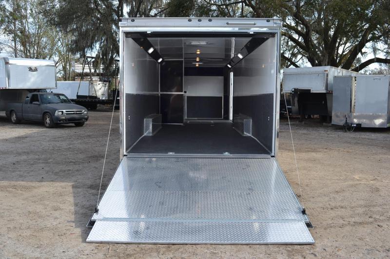 8.5x30 Haulmark EDGE Pro   Race Car Trailer