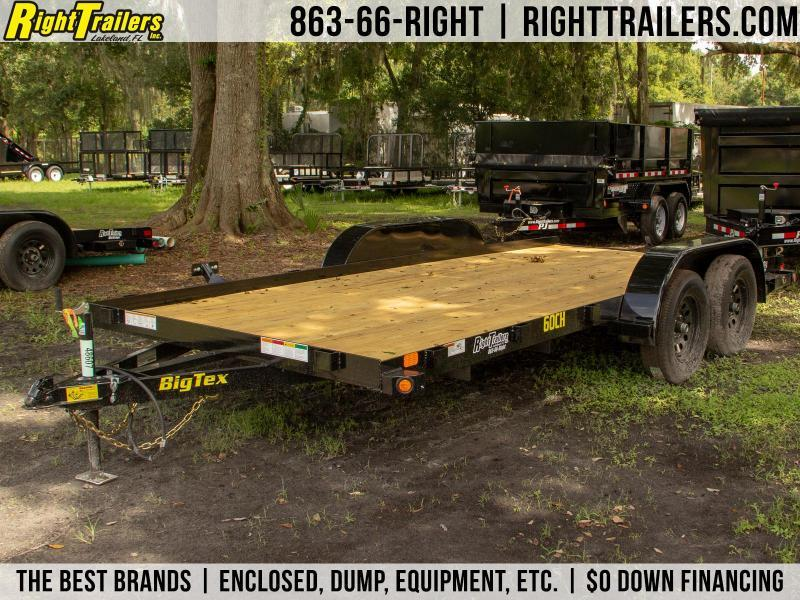 7x16 Big Tex Trailers | Open Car Hauler [60CH]