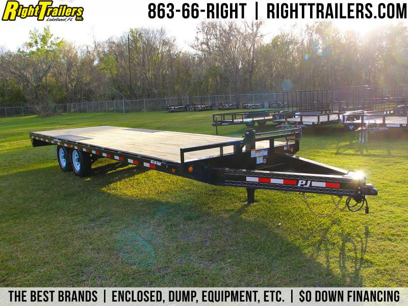 8x24 PJ Trailers | Equipment Trailer  in Ashburn, VA