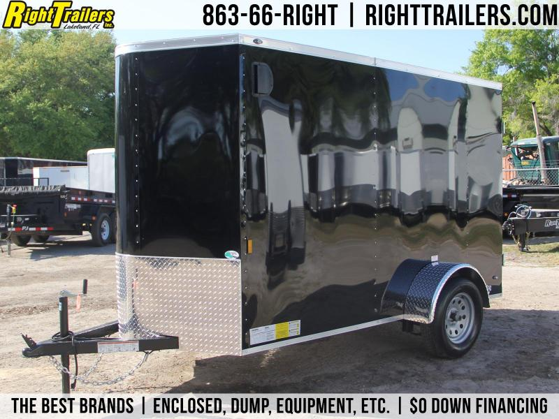 5x10 Continental Cargo | Enclosed Trailer [Black] in FL