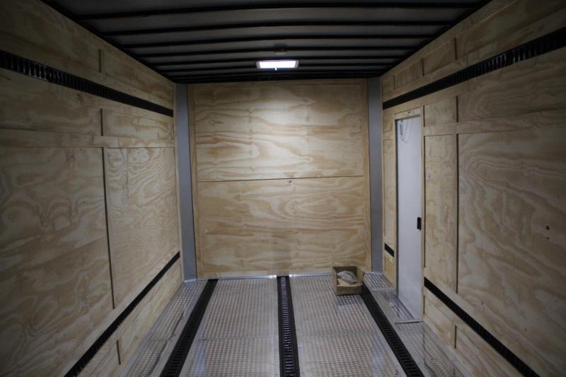 8.5x24 Custom Freedom Trailers | Enclosed Trailer