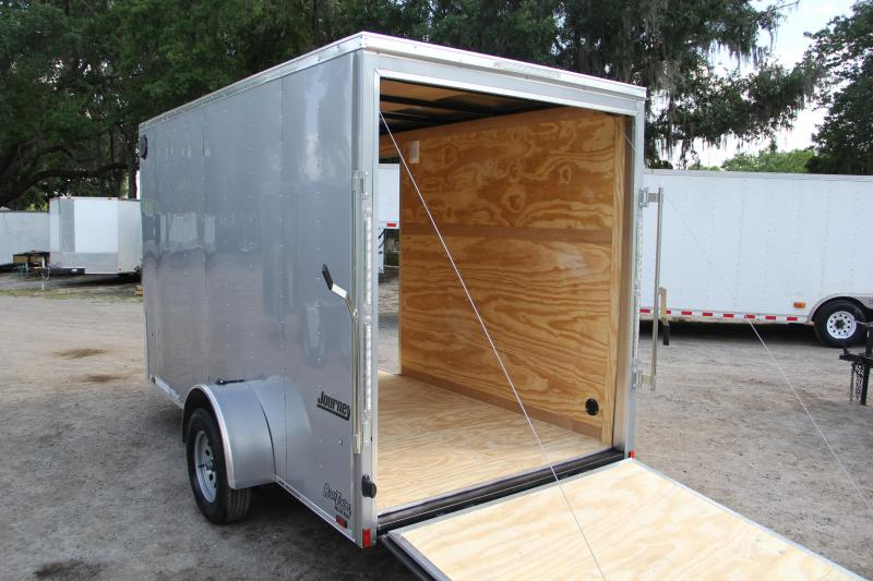6x12 Pace American | Enclosed Trailer [Silver]