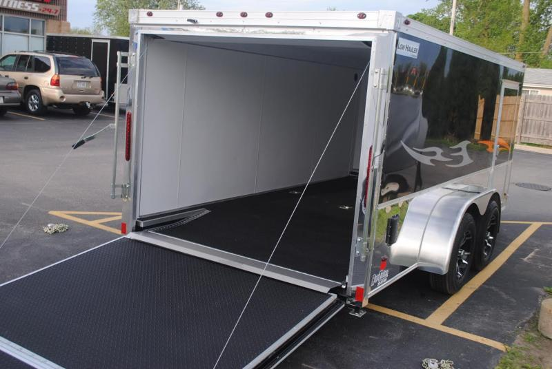 7x14 Haulmark Low Hauler Motorcycle Trailer Right