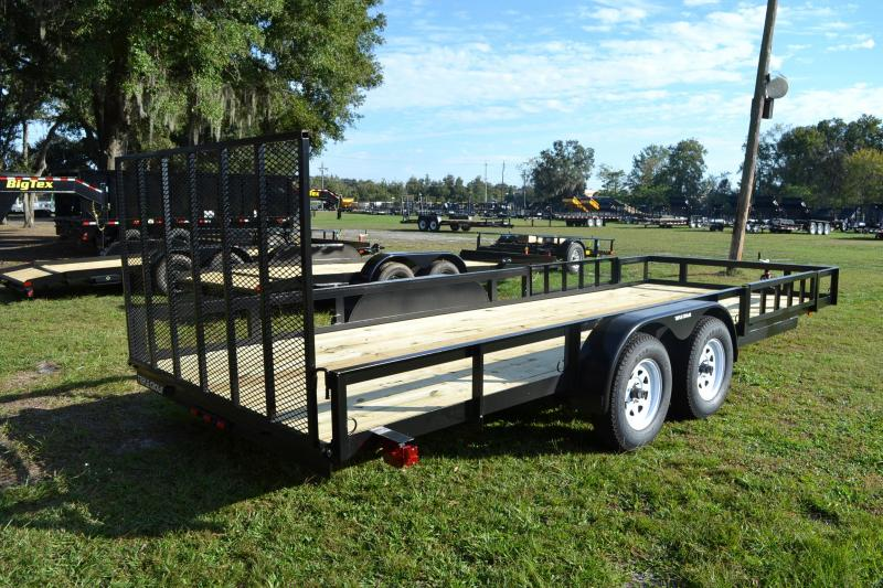 7x20 Red Hot Trailers | ATV Utility Trailers