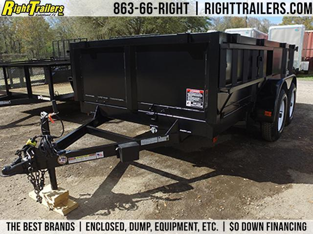 6x12 Red Hot Trailers | Dump Trailer [Low-Rider] in Ashburn, VA