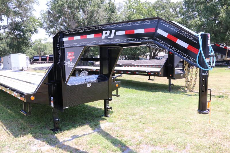 8.5x40 PJ | Equipment Gooseneck Trailer
