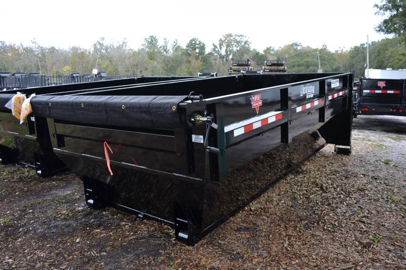 7x14x4 PJ Trailers   Roll Off Dumpster
