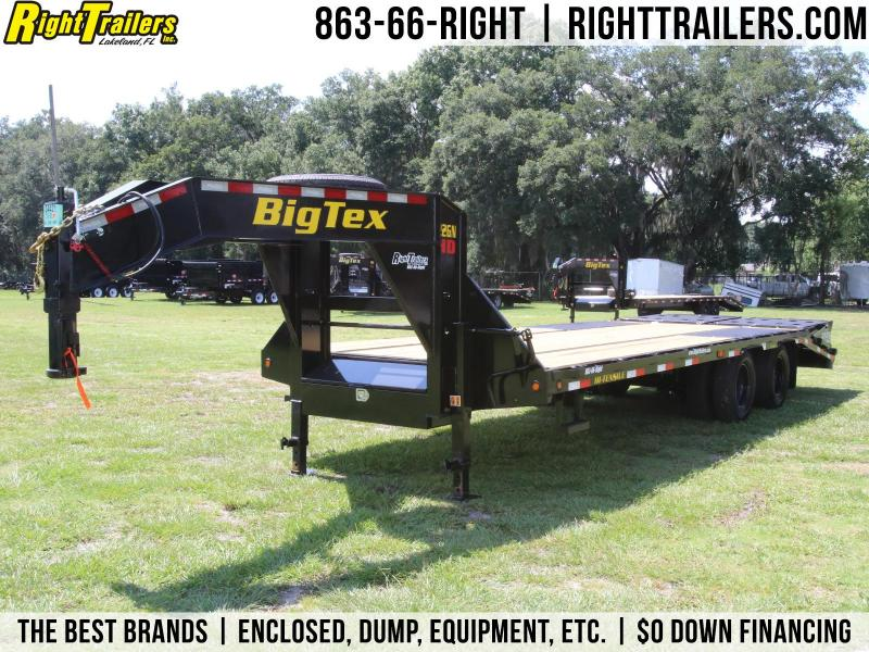 8x25 Big Tex | Equipment Trailer