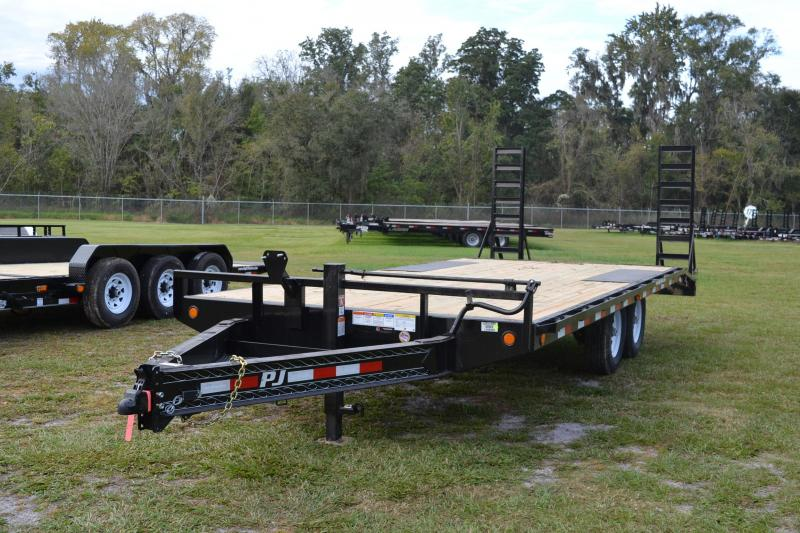 8.5x20 PJ Trailers | Equipment Trailer