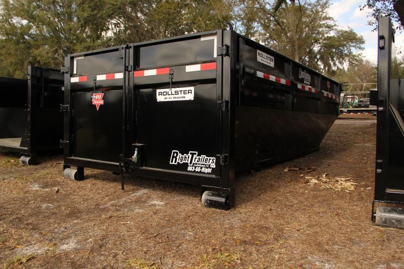 7x14x4 PJ Trailers   Dumpster Bin