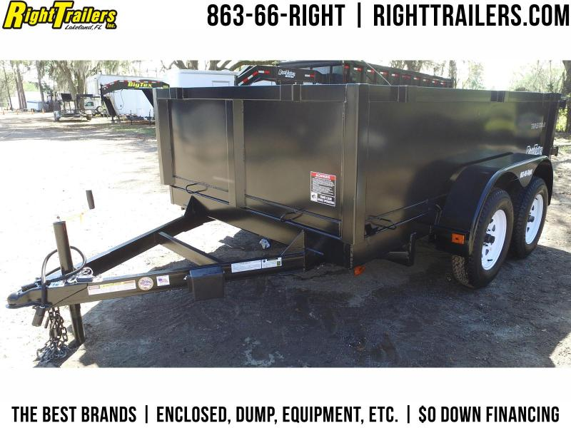 6x10 Red Hot Trailers | Dump Trailers