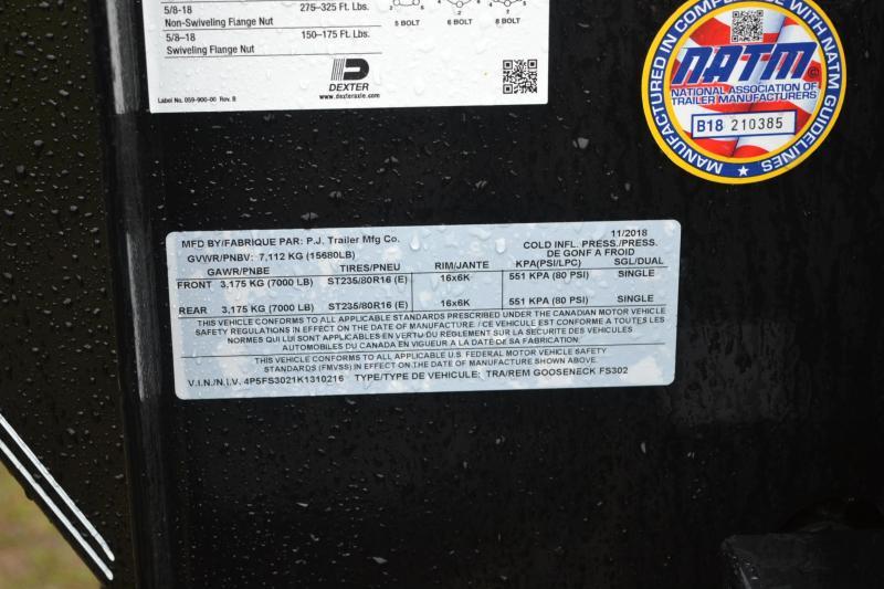 8.5x30 PJ Trailers   Equipment Trailer