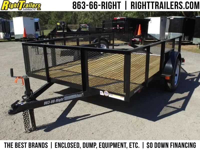 6x10 Red Hot Trailers | Utility Trailer [2' Mesh Sides] in Ashburn, VA
