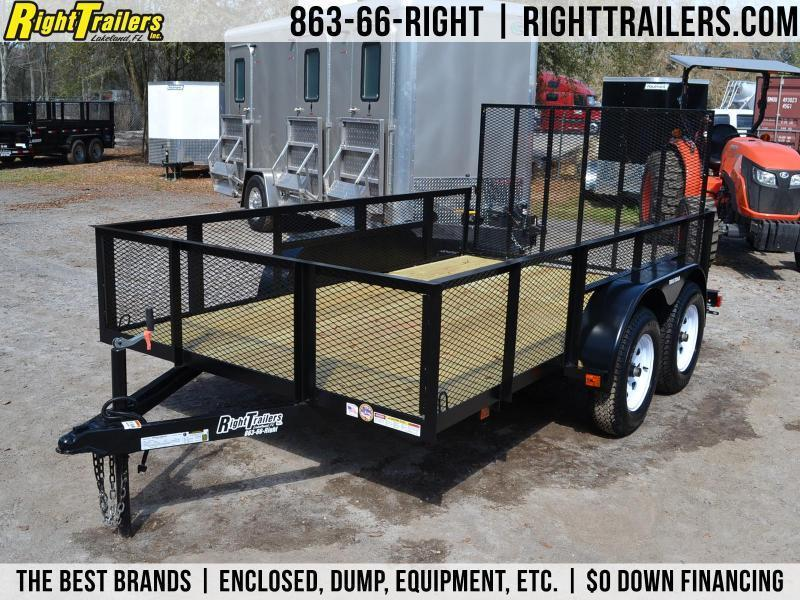 6x12 Red Hot Trailers | Utility Trailer [Tandem Axle]