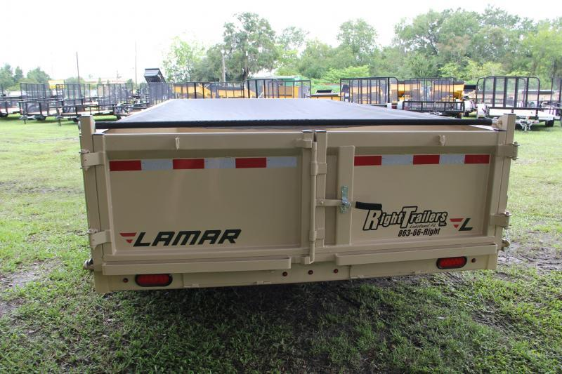 7x14 Lamar Trailer | Dump Trailer
