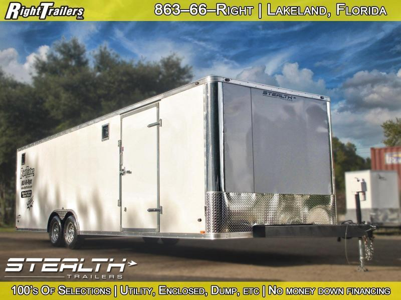8.5x28 Stealth Trailers | Race Car Trailer in Ashburn, VA