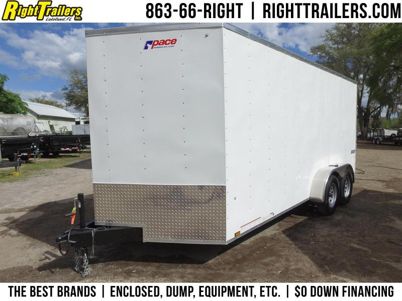 7x16 Pace American | Enclosed Cargo Trailer  in Ashburn, VA