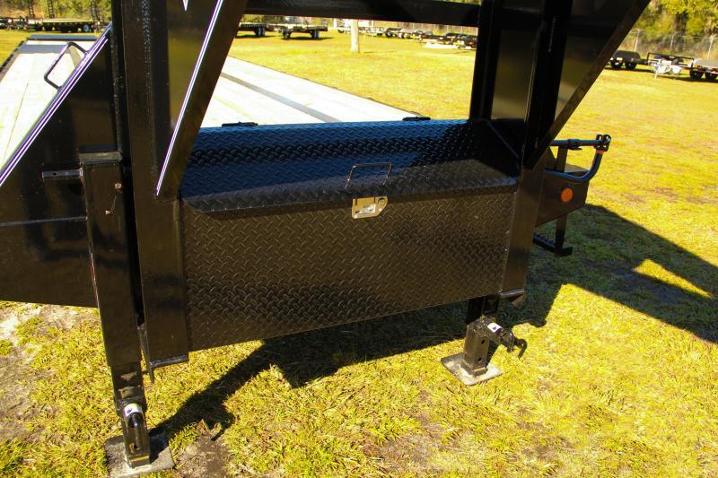 8.5x35  PJ Trailers | Equipment Trailer (Gooseneck)