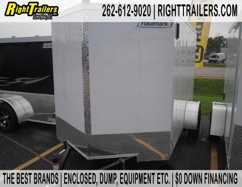 6x10 Haulmark General 3000 Series   Enclosed Trailer