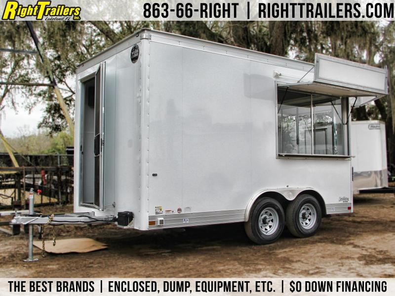 2018 Wells Cargo Concession Trailer Enclosed Cargo Trailer in FL