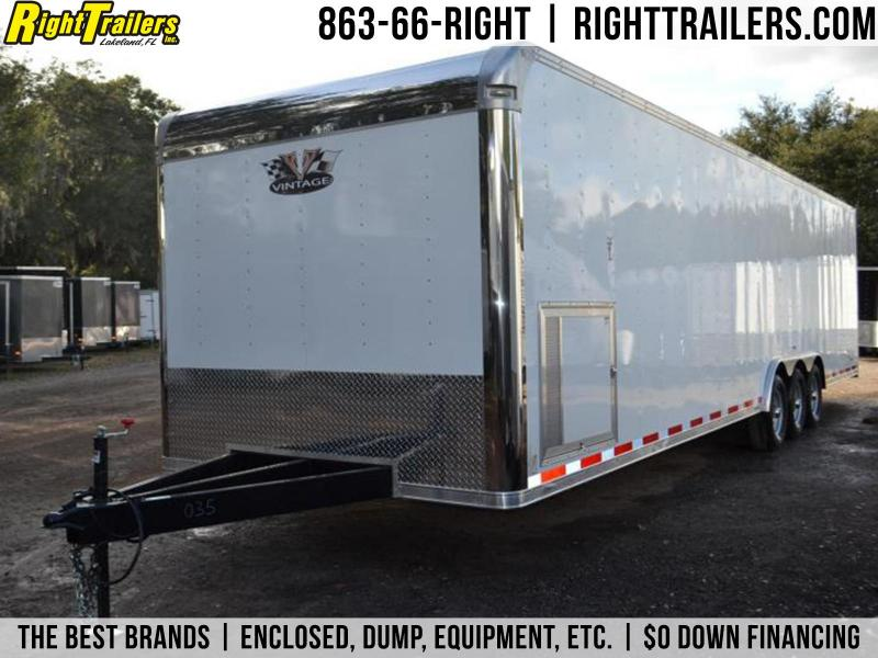 8.5x32 Vintage Trailers | Race Car Trailer