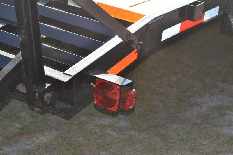7x20 Red Hot Trailers   Equipment Trailer